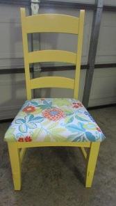 TA-DA!!  Happy chairs!!